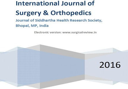 Orthopedic surgery: Beware of 10 intra operative nightmare situations other than common medico-surgical complications